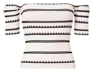 Ronny Kobo Collection Top black, white
