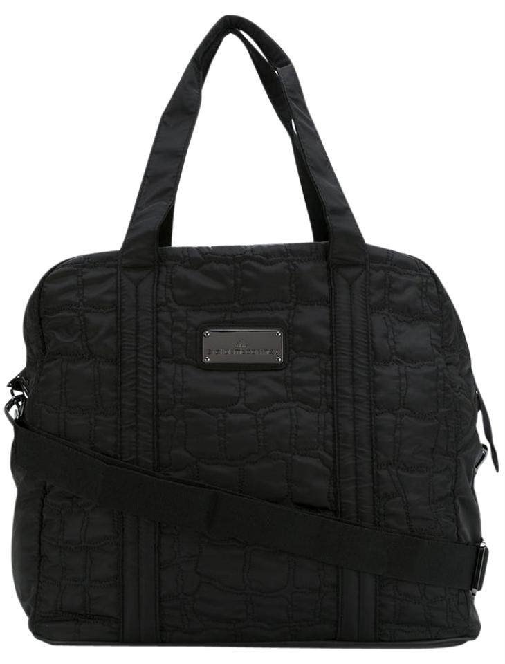 adidas By Stella McCartney Gym Alo Yoga Lululemon Black Travel Bag ... 603c0d82d0a77