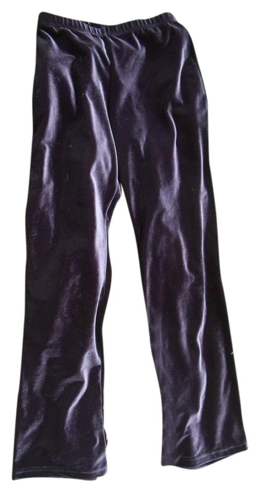 6cc14de23b Black Stretch Velvet Yoga Or Dance Pants Size 2 (XS, 26) - Tradesy