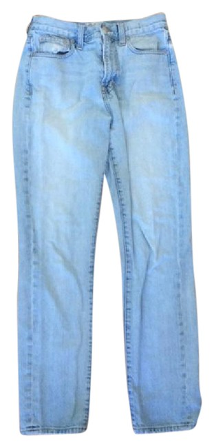 Item - Blue Distressed Perfect Summer Straight Leg Jeans Size 26 (2, XS)
