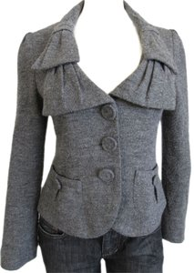 Nanette Lepore Jacket Suiting Gray Blazer