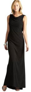 Night Way Collections Draped Cowl Neck Cowl Dress