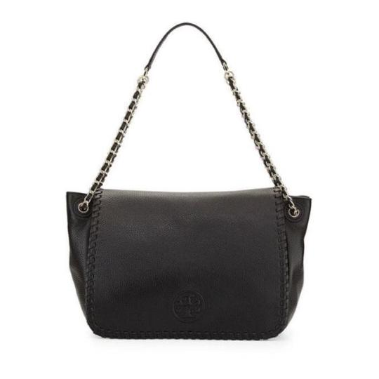 Preload https://img-static.tradesy.com/item/21626229/tory-burch-marion-flap-shoulder-black-leather-cross-body-bag-0-0-540-540.jpg