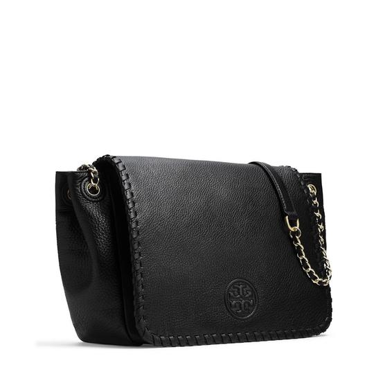 Tory Burch Saddle Shoulder Satchel Cross Body Bag Image 4