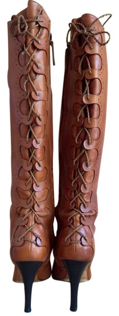 Item - Brown Leather Boots/Booties Size US 9.5 Regular (M, B)