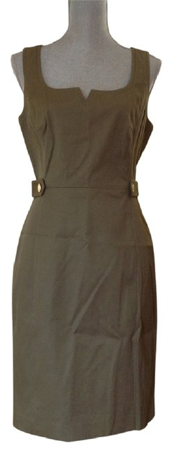 Item - Olive W New W/Tags Tayler Sheath Mid-length Short Casual Dress Size 8 (M)