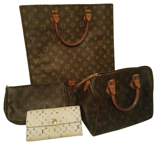 Louis Vuitton Speedy Wallet Neverfull Tote