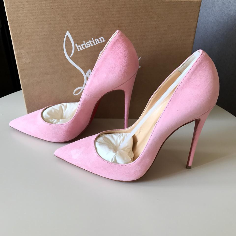 meet e61bf d5b33 Christian Louboutin Dolly Pink 37.5 So Kate Suede 120 Pumps Size US 7.5  Regular (M, B) 3% off retail