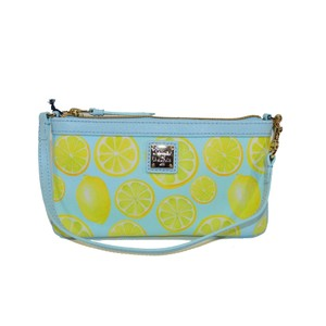 Dooney & Bourke Limone Wristlet in Sky
