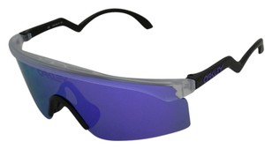 2bfff73bab Oakley Oakley Razor Blades Sunglasses OO9140-13 Clear With Violet Iridium  Lens. New and