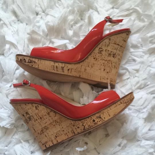 Brian Atwood Red Wedges