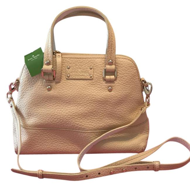 Kate Spade Maise Raw Almond Cowhide Leather Satchel Kate Spade Maise Raw Almond Cowhide Leather Satchel Image 1