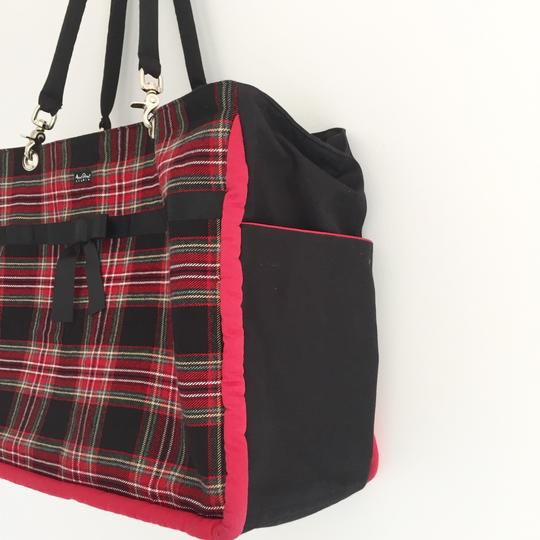 Anna Street Studio Black, red, white Travel Bag