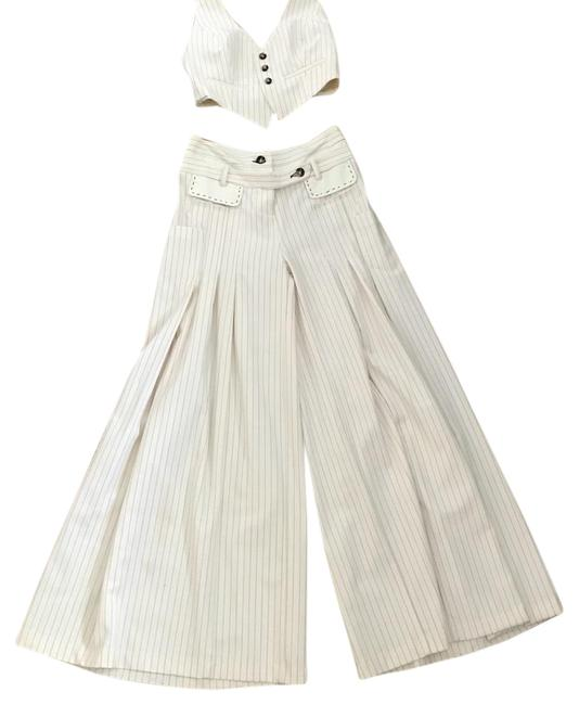 Preload https://item4.tradesy.com/images/off-white-with-red-thin-stripe-sailor-pant-suit-size-4-s-21628863-0-1.jpg?width=400&height=650