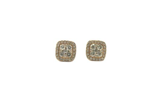 Preload https://item2.tradesy.com/images/yellow-gold-14k-with-diamond-stud-for-women-earrings-21628906-0-2.jpg?width=440&height=440