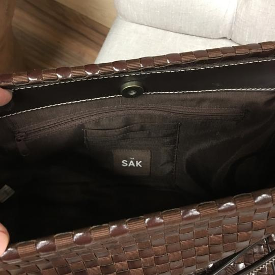 The Sak Satchel in brown