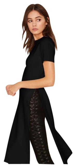 Preload https://img-static.tradesy.com/item/21629028/black-da29-split-long-stretch-tunic-size-2-xs-0-1-650-650.jpg