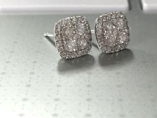 Other 14 Kt. Gold with Diamond Stud Earring