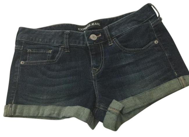 Preload https://item1.tradesy.com/images/express-blue-cut-off-shorts-size-2-xs-26-21629060-0-1.jpg?width=400&height=650