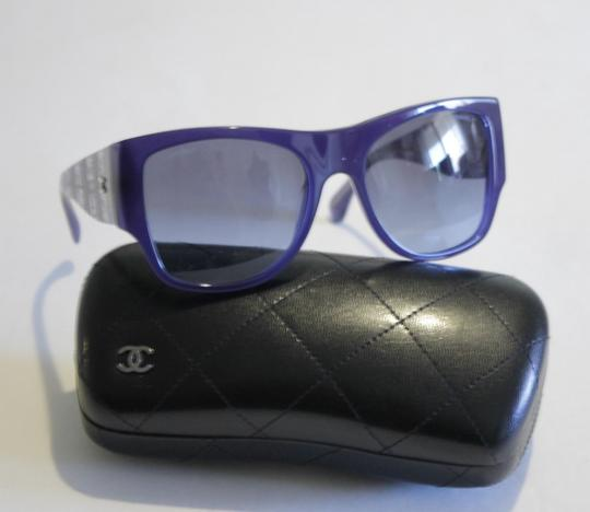 Chanel 5297 Blue Sunglasses Lace Arms 57mm