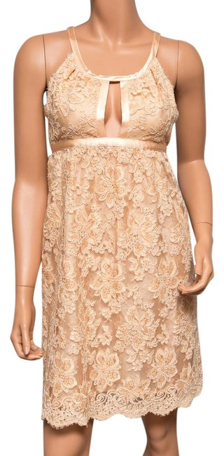 Preload https://img-static.tradesy.com/item/21629187/ingwa-melero-peach-bella-lace-overlay-mid-length-cocktail-dress-size-4-s-0-1-650-650.jpg