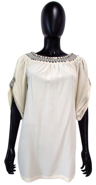 Preload https://item2.tradesy.com/images/alice-by-temperley-cream-studded-collar-tunic-size-2-xs-21629311-0-1.jpg?width=400&height=650