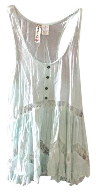 Preload https://item1.tradesy.com/images/mimi-chica-mint-sleeveless-blouse-size-6-s-21629370-0-1.jpg?width=400&height=650