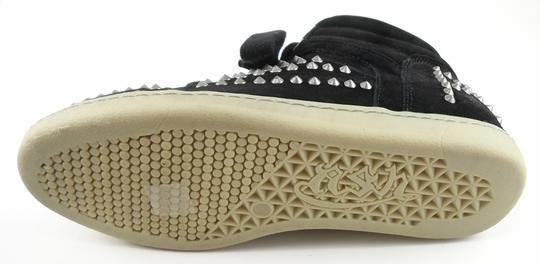 Ash Comfort Sneakers Suede Wedge Black Athletic