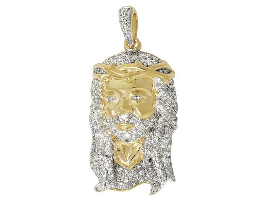 Preload https://item3.tradesy.com/images/10k-yellow-gold-men-s-jesus-face-head-piece-diamonds-pendant-10ct-12-charm-21629622-0-0.jpg?width=440&height=440
