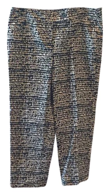 Preload https://item5.tradesy.com/images/ann-taylor-loft-black-and-tan-modern-capricropped-pants-size-6-s-28-21629674-0-1.jpg?width=400&height=650