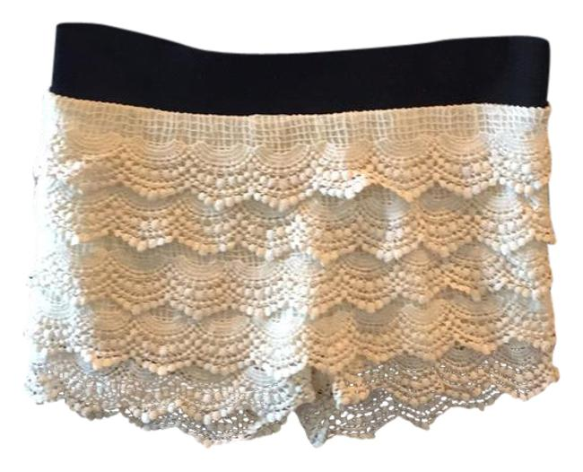 Preload https://item4.tradesy.com/images/annabelle-cream-lace-minishort-shorts-size-10-m-31-21629763-0-1.jpg?width=400&height=650