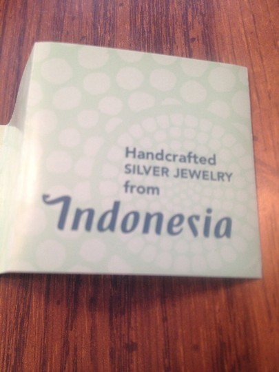 QVC -Indonesia NEW Purple And Silver Handcrafted Indonesian Necklace