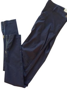 Nicole Miller Ankle Elastic Stretchy Pockets Skinny Jeans-Coated