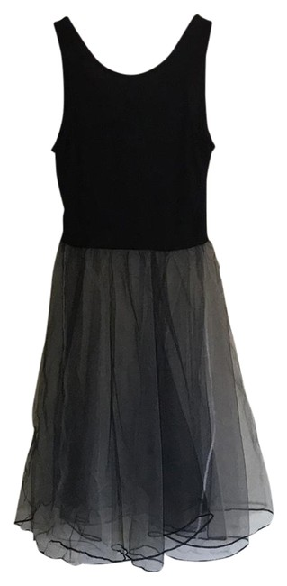 Preload https://img-static.tradesy.com/item/21630017/black-sheer-ballerina-mid-length-night-out-dress-size-4-s-0-1-650-650.jpg