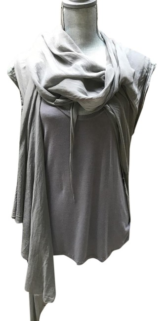 Preload https://item1.tradesy.com/images/superfine-grey-sf-tunic-size-12-l-21630065-0-2.jpg?width=400&height=650