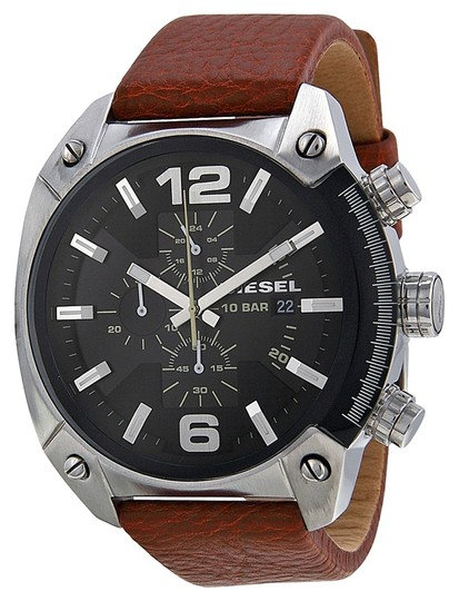 Preload https://item5.tradesy.com/images/diesel-brown-male-casual-dz4296-silver-analog-watch-2163009-0-0.jpg?width=440&height=440