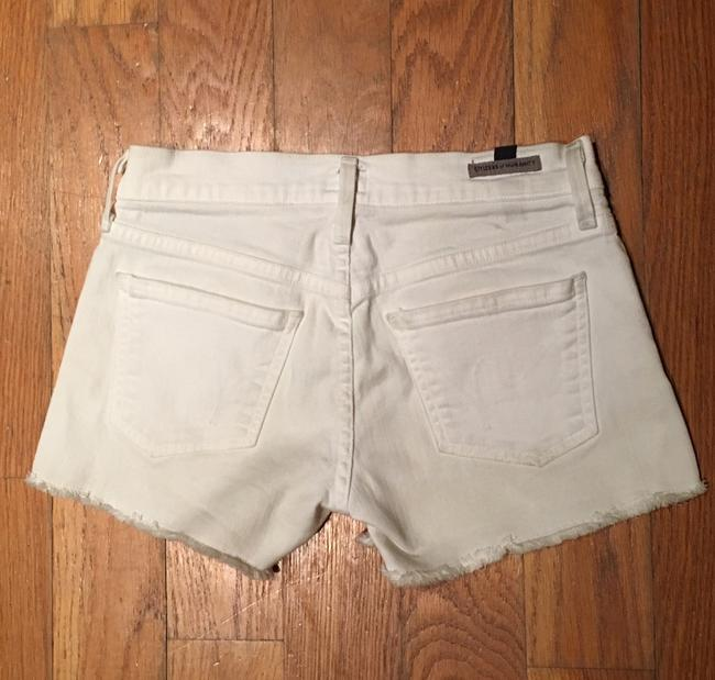 Citizens of Humanity Cut Off Shorts White