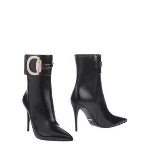 Gucci black gold Boots