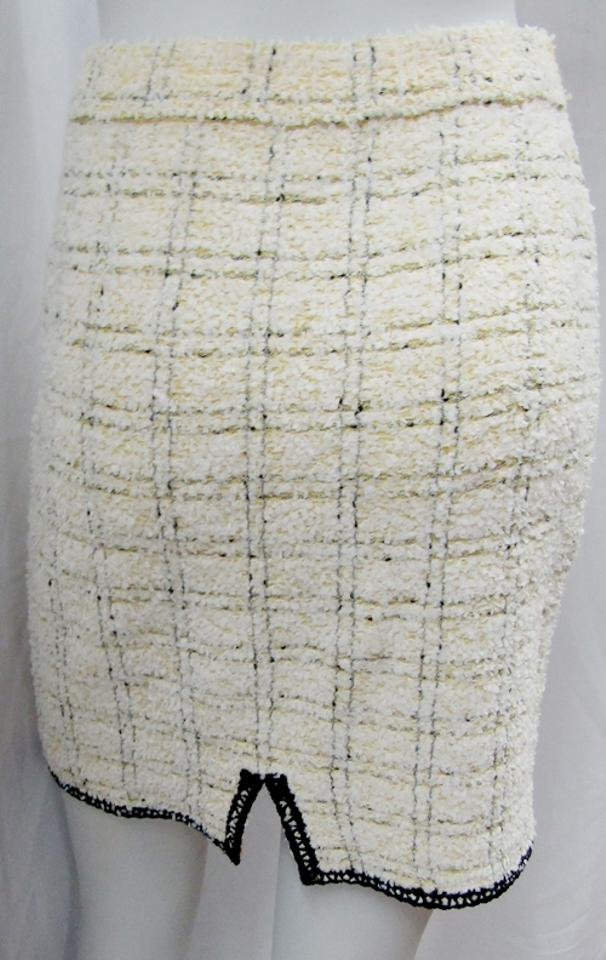 abbc66db8f St. John Yellow Collection Marie Gray Vintage 2pc Tweed Jacket Skirt ...