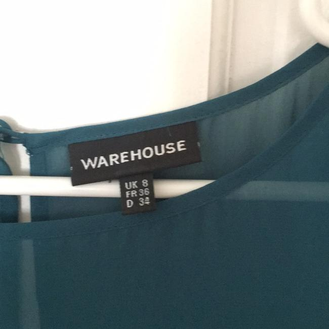 Warehouse UK short dress petrol on Tradesy