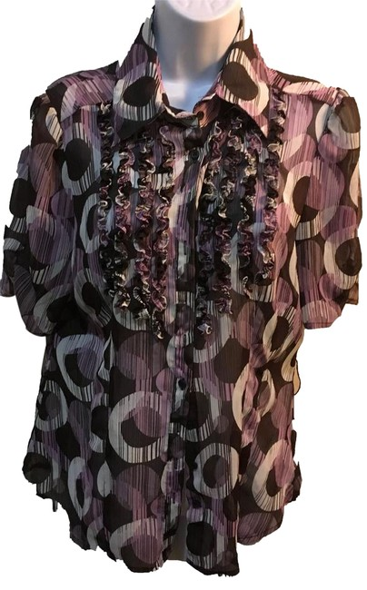 Preload https://img-static.tradesy.com/item/21630709/worthington-purples-sheer-ruffle-blouse-size-12-l-0-1-650-650.jpg
