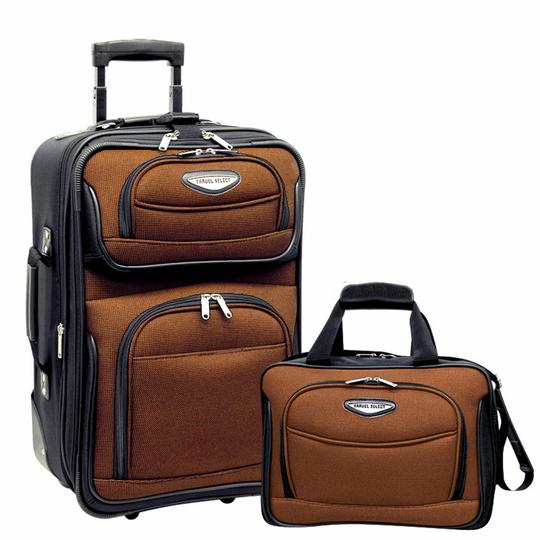 Preload https://item1.tradesy.com/images/amsterdam-two-piece-carry-on-luggage-set-orange-polyester-weekendtravel-bag-21630725-0-0.jpg?width=440&height=440