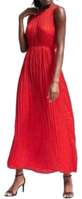 Preload https://img-static.tradesy.com/item/21630768/banana-republic-red-gathered-pleat-long-casual-maxi-dress-size-16-xl-plus-0x-0-1-650-650.jpg