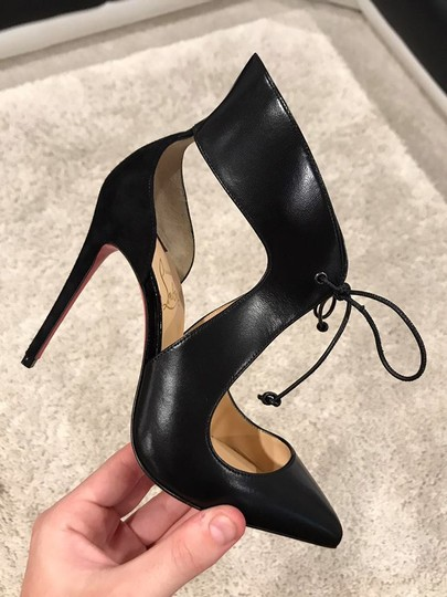Christian Louboutin Ferme Rouge Stiletto black Pumps