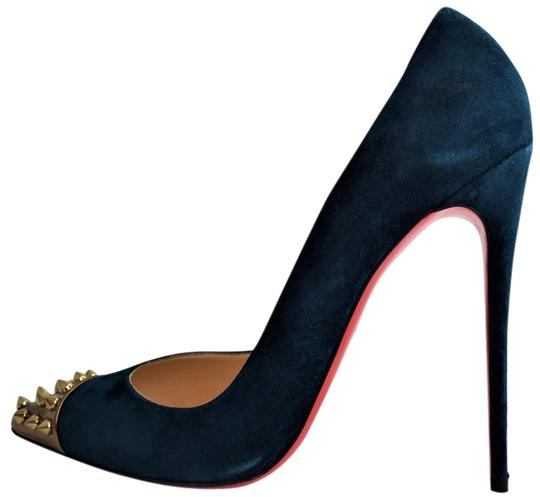 Preload https://img-static.tradesy.com/item/21631147/christian-louboutin-navy-geo-pigalle-high-heel-red-sole-lady-fashion-specchio-gold-toe-italy-pumps-s-0-1-540-540.jpg