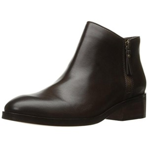 Cole Haan Ankle Double Zip Brown Boots