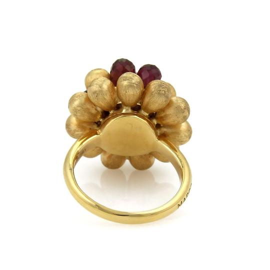 Marco Bicego Paradise Tourmaline & Pearl Cluster 18k Gold Ring