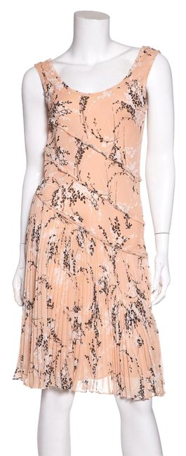 Preload https://item2.tradesy.com/images/jason-wu-peach-pleated-floral-print-short-casual-dress-size-4-s-21631351-0-1.jpg?width=400&height=650