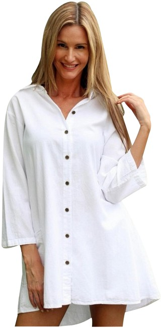 Preload https://img-static.tradesy.com/item/21631418/lirome-white-low-high-organic-cotton-cute-kaymi-long-sleeve-country-tunic-size-20-plus-1x-0-3-650-650.jpg