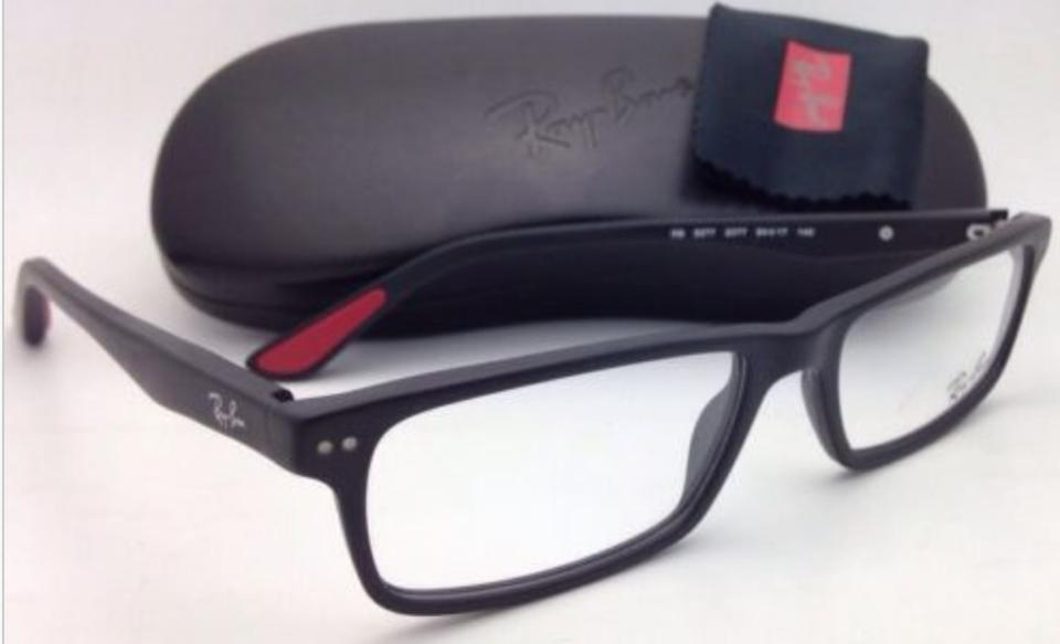 590cfb4379a Ray-Ban New Rb 5277 2077 54-17 140 Sandblasted Black Frames Sunglasses -  Tradesy